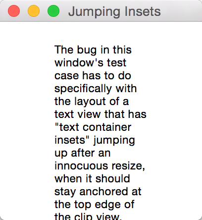 Jumping Insets